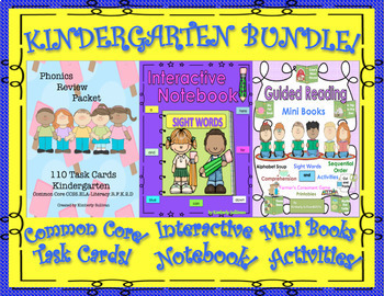 Bundle Reading Comprehension Passages and Questions  K - 1