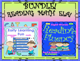 Bundle Reading comprehension passages and questions ELA MATH printables too!