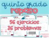 Bundle Repaso Matemáticas Quinto Grado Problemas (Distance