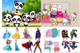 Bundle Reward system (princess, Super heroes, peppapig, ba