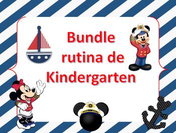 Bundle Rutina Kinder - Motivo Mickey Marinero