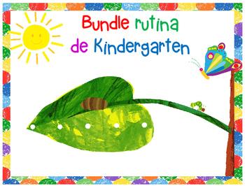 Bundle Rutina Kinder - Motivo Oruga Hambrienta