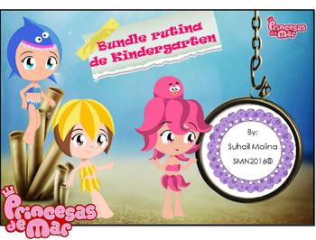 Bundle Rutina Kinder - Motivo Princesas de mar