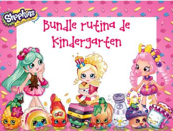 Bundle Rutina Kinder - Motivo Shopkins