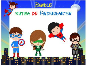 Bundle Rutina Kinder - Motivo Súper Héroes