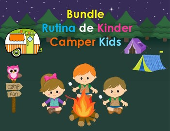 Bundle Rutina Kinder motivo Happy Campers
