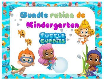 Bundle Rutina Motivo Bubble Guppies