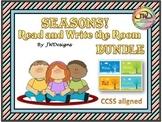 SEASONS Write the Room Seasons Bundle for Spring, Summer,