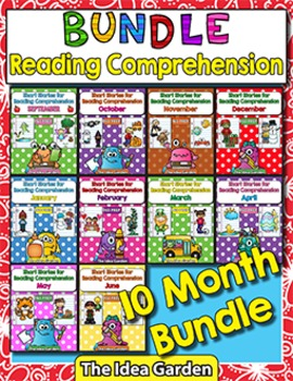 Bundle School Year - Short Stories for Reading Comprehensi