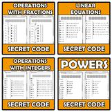 Bundle - Secret code - 15 ITEMS