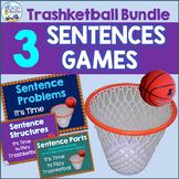 Sentences Trashketball Games Bundle