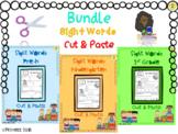 Bundle Sight Words - Cut&Paste