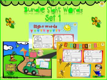 Bundle Sight Words (Set 1)