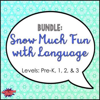 Bundle: Snow Much Fun with Language