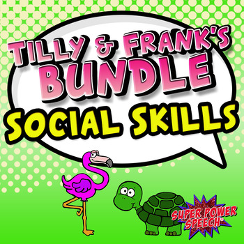 Bundle: Tilly and Frank Social Skills Lessons for Young Children