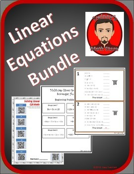 Bundle: Solving Linear Equations with Multiple Steps