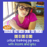 Pop Songs with lessons - mindfulness, social justice, cour