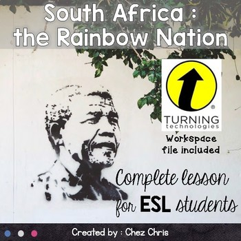 Complete Lesson and Interactive Activities - South Africa BUNDLE