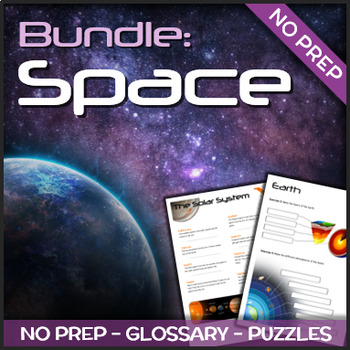 Bundle - Space (Puzzles & Glossaries)