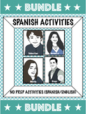 Bundle: Spanish Activities (Sebastian, Veronica, Maria, Diego)