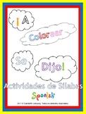 Syllable Segmentation & Awareness (Bundle: English & Spani