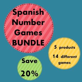 Bundle - Spanish Number Games