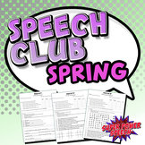 Speech Club Spring (Articulation for Older Students)
