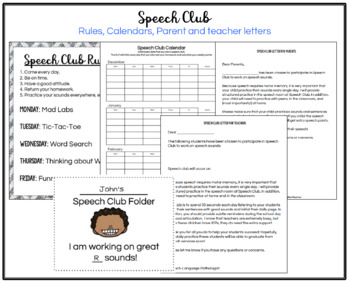 Speech Club Winter (Articulation for Older Students)