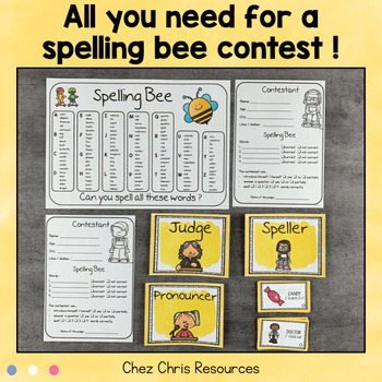 Spelling Bee Unit