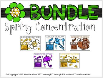 Bundle Spring Concentration Learning Colors