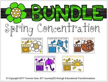 Bundle Spring Concentration Learning Colors