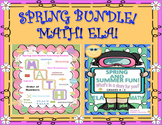 Bundle Spring Math and ELA! Grade 4