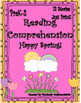 Bundle Spring Reading Comprehension Passages and Questions K - 2