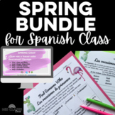 Bundle - Spring in Spanish Class - Spring break chats, cul