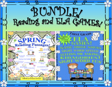 Bundle! Spring reading comprehension passages and questions   ELA Games!