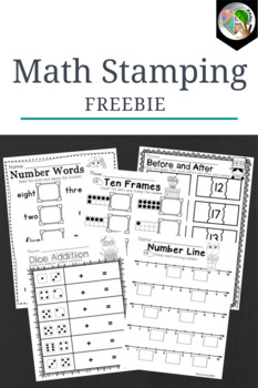 Math Stamping Center - Freebie