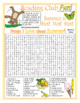 Summer Activities & Appreciation Two-Page Activity Set and Word Searches