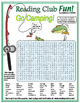 Bundle: Summer Camp and Camping Two-Page Activity Set and Word Search Puzzle