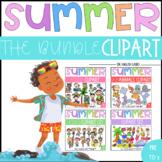 Bundle Summer Clipart Set