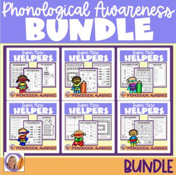Phonological awareness bundle! Super Hero Helper Programs