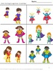 Superhero Math Literacy Bundle Special Education and Autism Resources Fine Motor