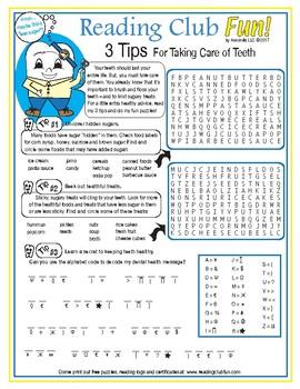 Bundle: Taking Care of Your Teeth Dental Health