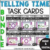 Telling Time Task Cards- BUNDLE SET A