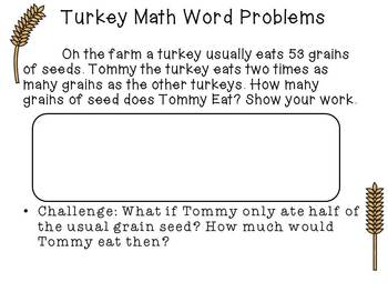 Bundle Thanksgiving Common Core aligned Math and Literacy SUPER pack