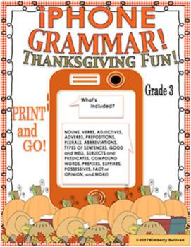 Bundle Thanksgiving ELA no prep printables! Bonus The Mystery on Cow Mountain!