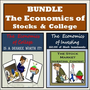 Stock Market Activity & Is a College Degree Worth It? - BUNDLE