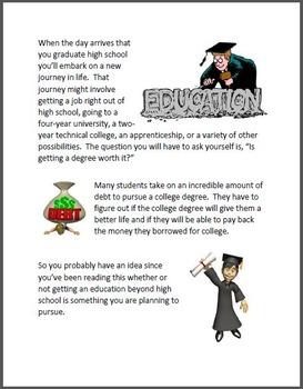 Bundle - The Economics of College & The Economics of Saving Money