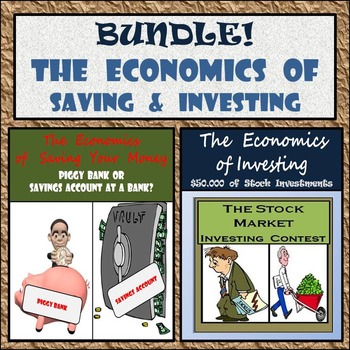 Bundle - The Economics of Saving Your Money & Investing in Stocks