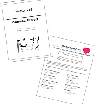 Bundle: The Kindness Project and Humans of _____ Interview Project