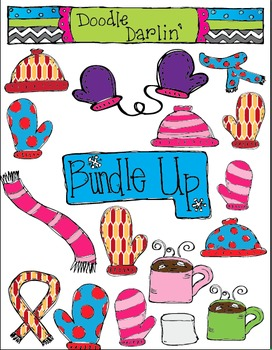 Bundle Up Clipart Set